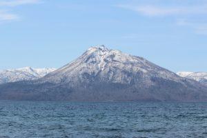 早春の支笏湖